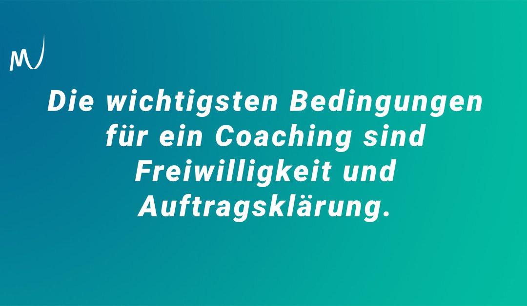Wir müssen reden, Coaching-Szene!